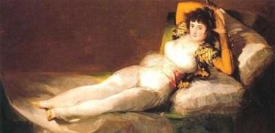 Maya Vestida (1800 circa) Goya