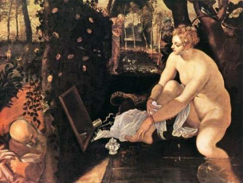 Susanna and the Elders (1562) Tintoretto