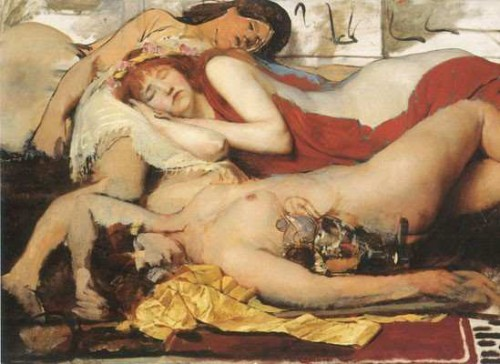 Exhausted Maenads