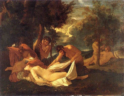 Satyrs and Sleeping Nymph