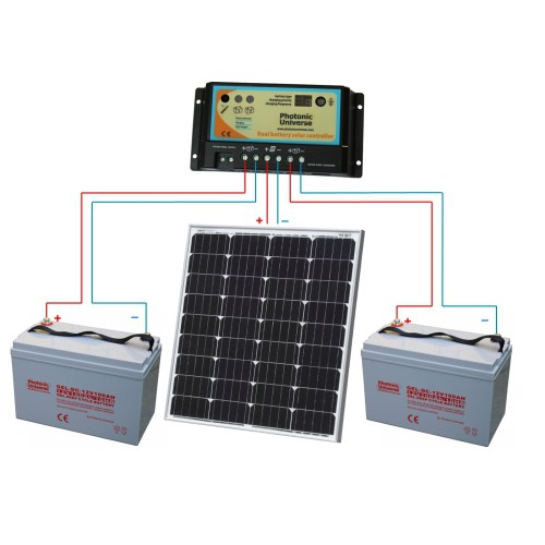 small resolution of  boats 80w db kit connection scheme 12v solar panels charging kits for caravans motorhomes boats 12v solar panel wiring connection diagram
