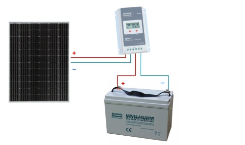 small resolution of connection scheme for 200w 12v 24v photonic universe solar charging kit