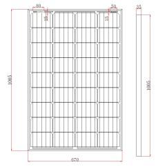 12v 100ah Battery Charger Circuit Diagram Dodge Fuse Box Solar Panels Charging Kits For Caravans Motorhomes