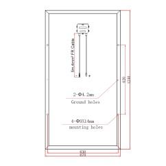 12v 100ah Battery Charger Circuit Diagram Rj45 Wall Socket Wiring Solar Panels Charging Kits For Caravans Motorhomes