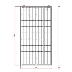 12v 100ah Battery Charger Circuit Diagram Wiring Fog Light Relay Solar Panels Charging Kits For Caravans Motorhomes