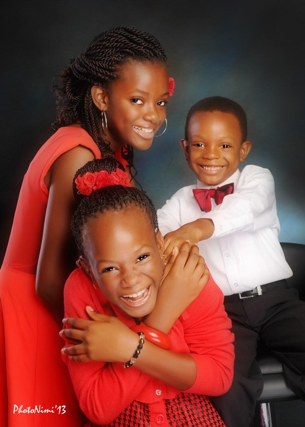 children having fun, studio, photonimi