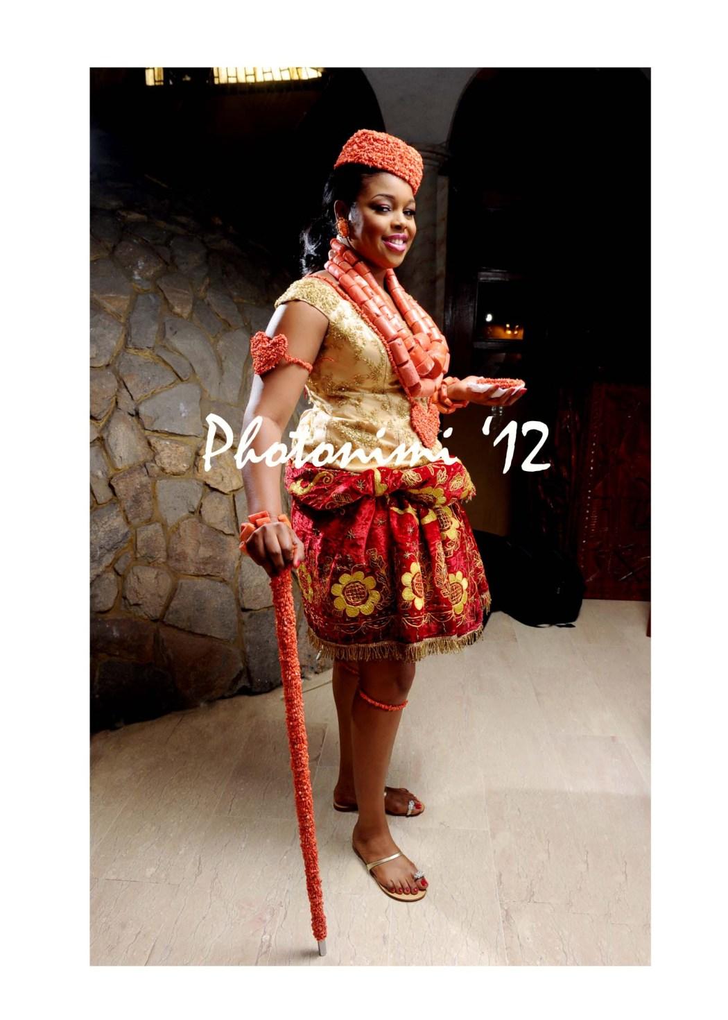 Beautiful Bride In Traditional Attire