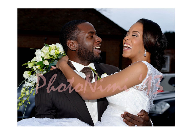 the odukoyas, newly weds, happy couple, photo nimi