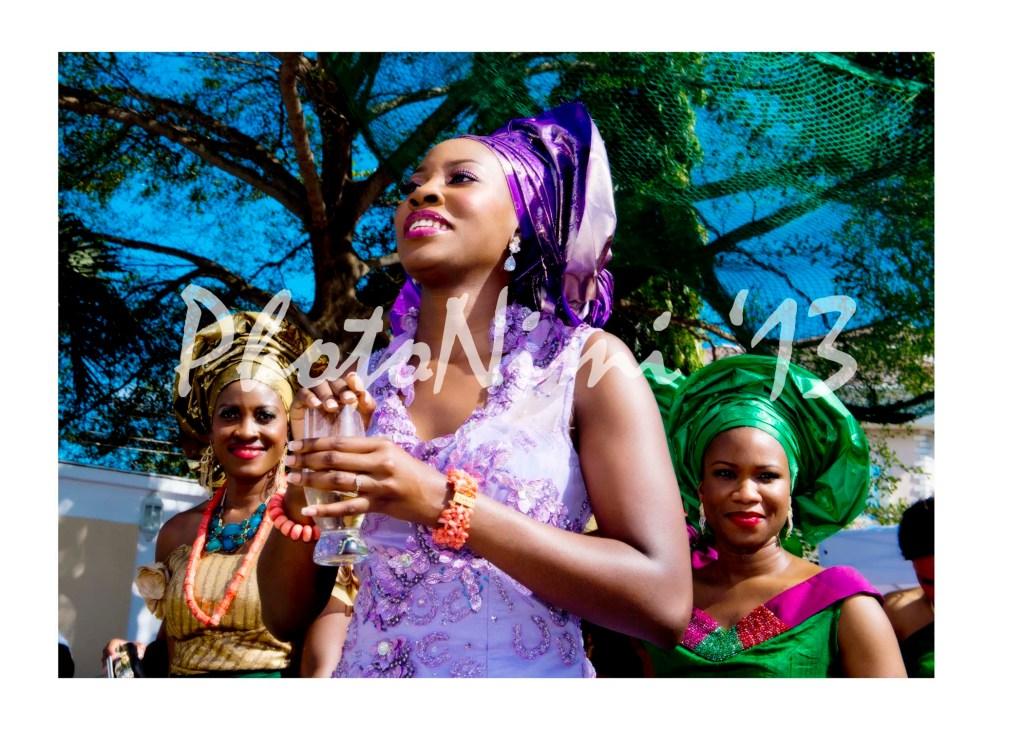 bride, colourful traditional wedding