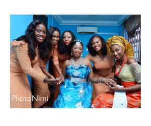 bride & friends, photonimi