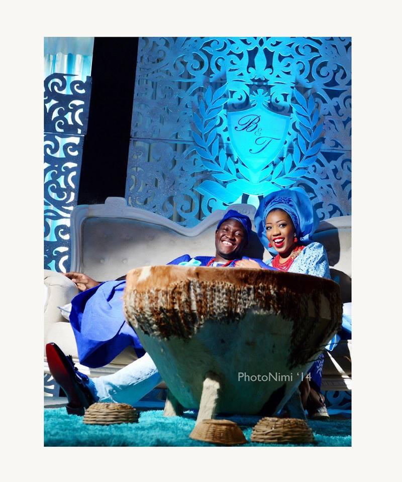 bride & groom, couple, yoruba traditional wedding, photonimi