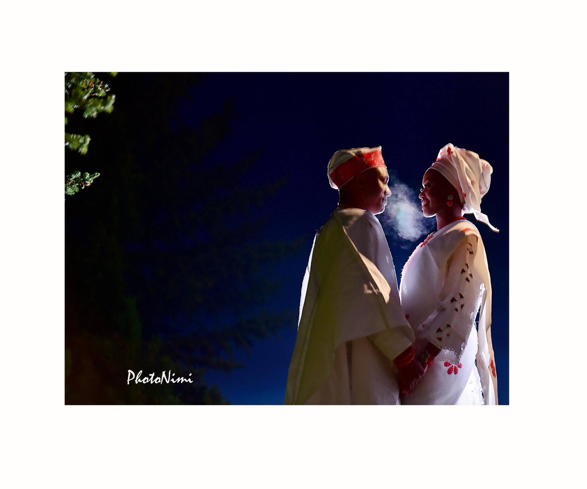 Yinka & Olumide... Smoking Love in Calgary, photonimi, traditional wedding, yoruba