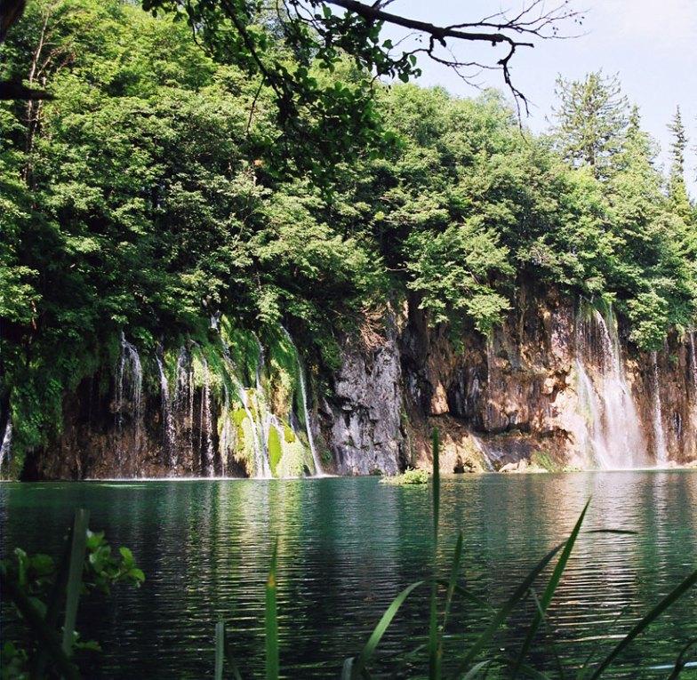 Pletvice river falls