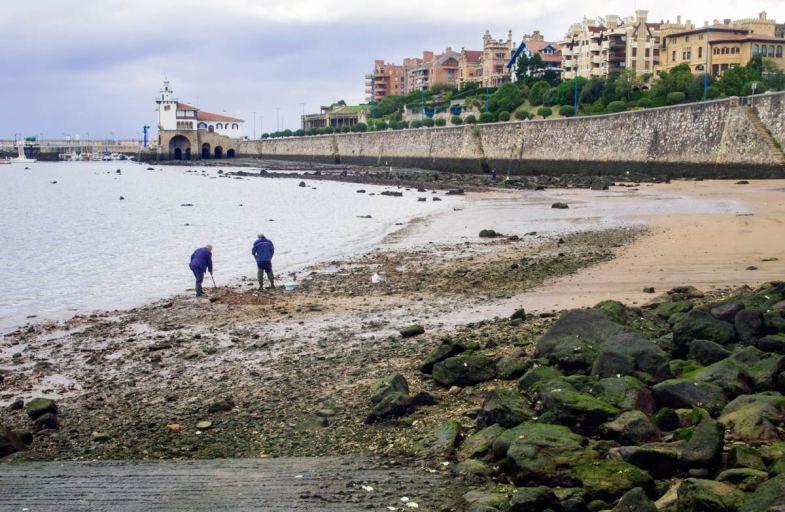 Shell fishermen