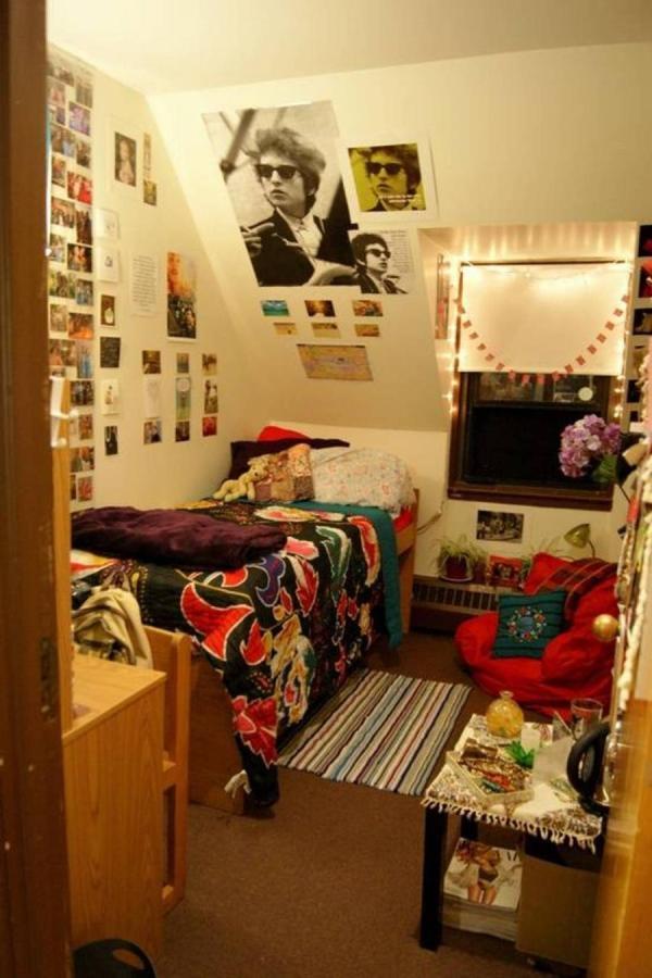 College Single Dorm Room Ideas