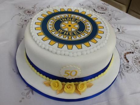 Rotary Club Cake