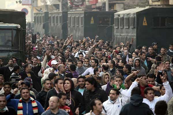 Egypt protests through photos