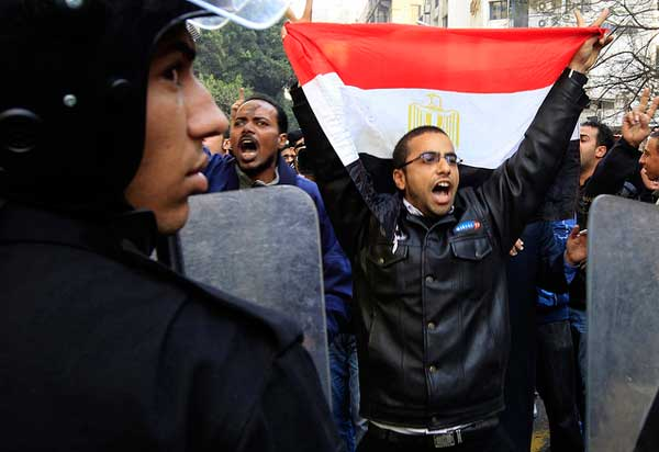 Egypt protests through photos