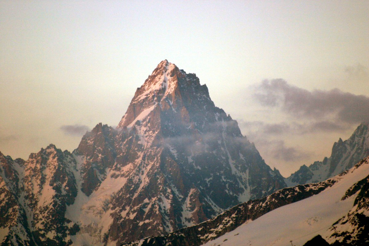 The mountains of the alps