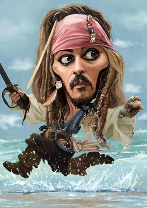johnny depp captain jack