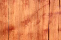 Stained Wooden Fence Boards Closeup Texture Picture