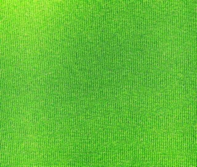 Neon Green Nylon Fabric Close Up Texture