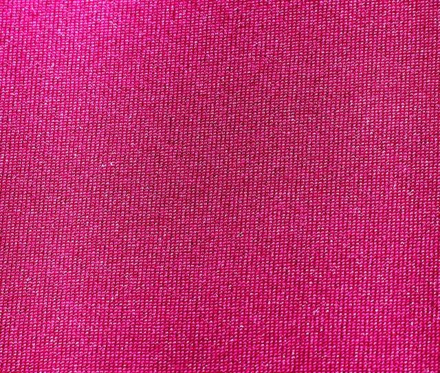 Hot Pink Nylon Fabric Closeup Texture
