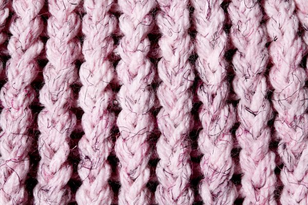 Pink Knit Yarn Close Up Texture Picture Free Photograph