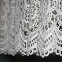 White Lace Curtain Close Up Picture | Free Photograph ...