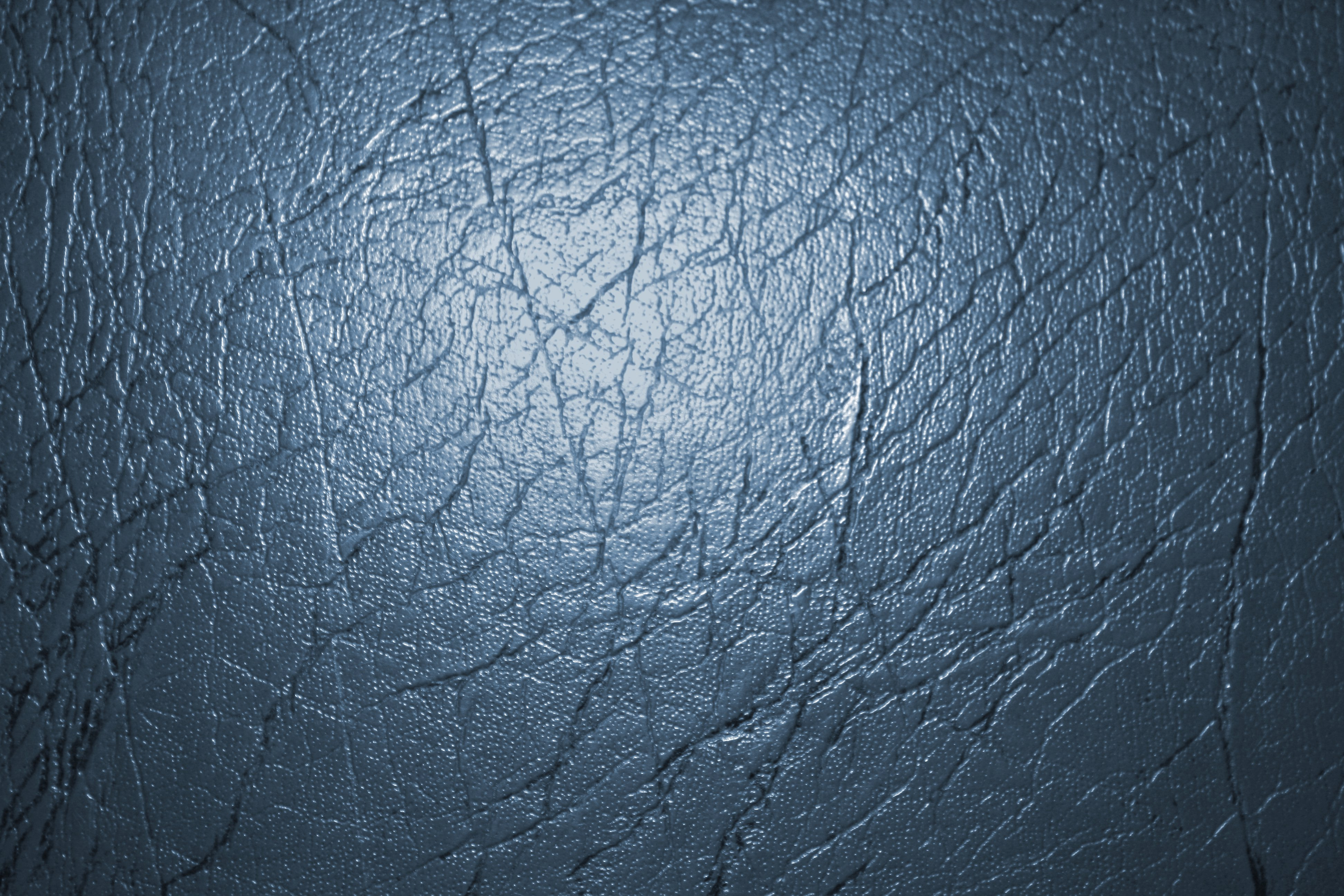 Blue Gray Leather Texture Picture  Free Photograph