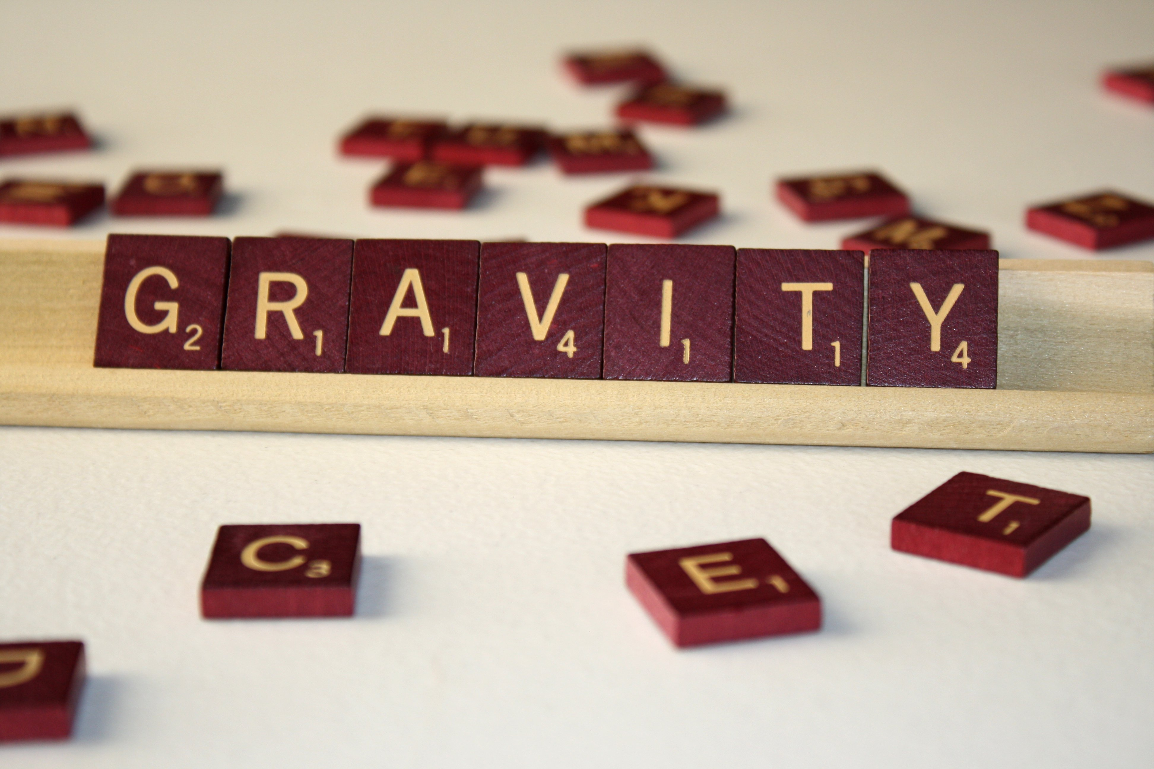 Gravity Free High Resolution Photo Of The Word Gravity