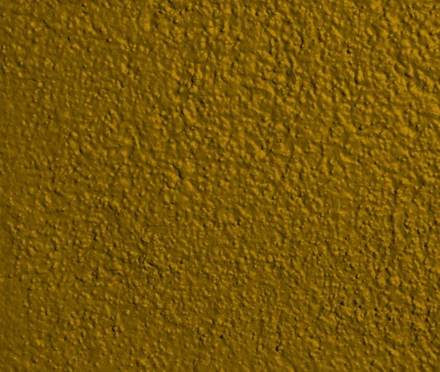 Gold Colored Painted Wall Texture