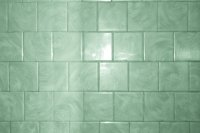 Green Bathroom Tile with Swirl Pattern Texture  Photos ...