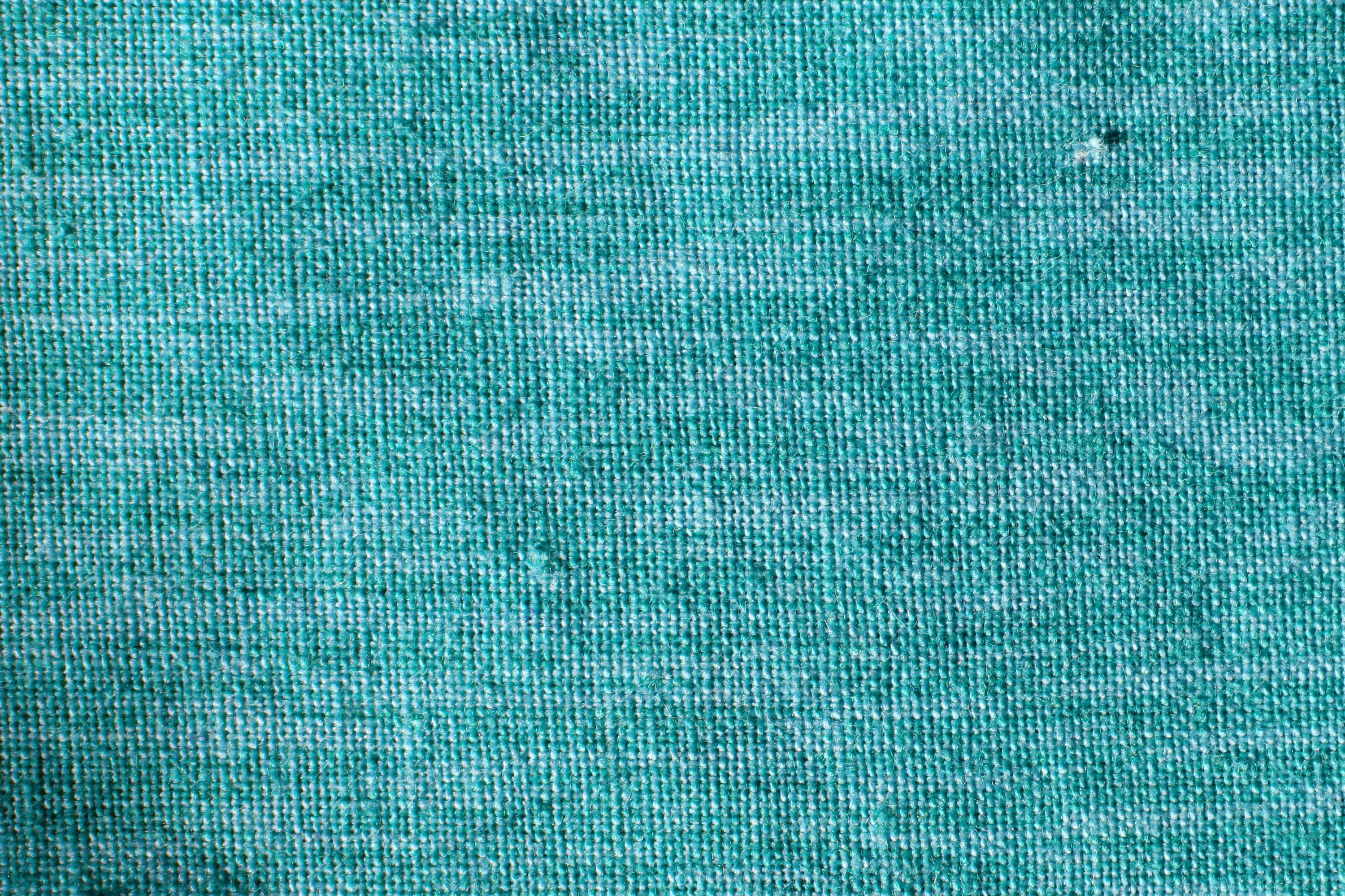 teal woven fabric close