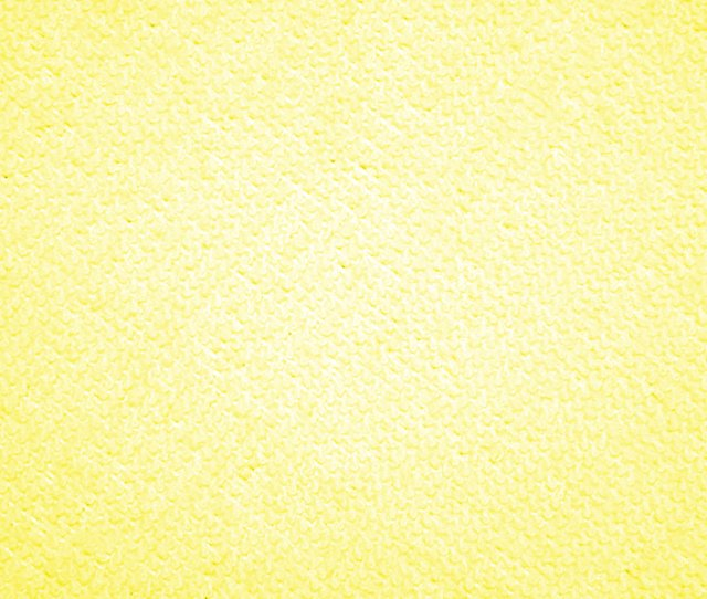 Yellow Microfiber Cloth Fabric Texture