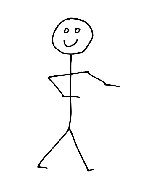 small resolution of smiling stick figure person free high resolution clipart