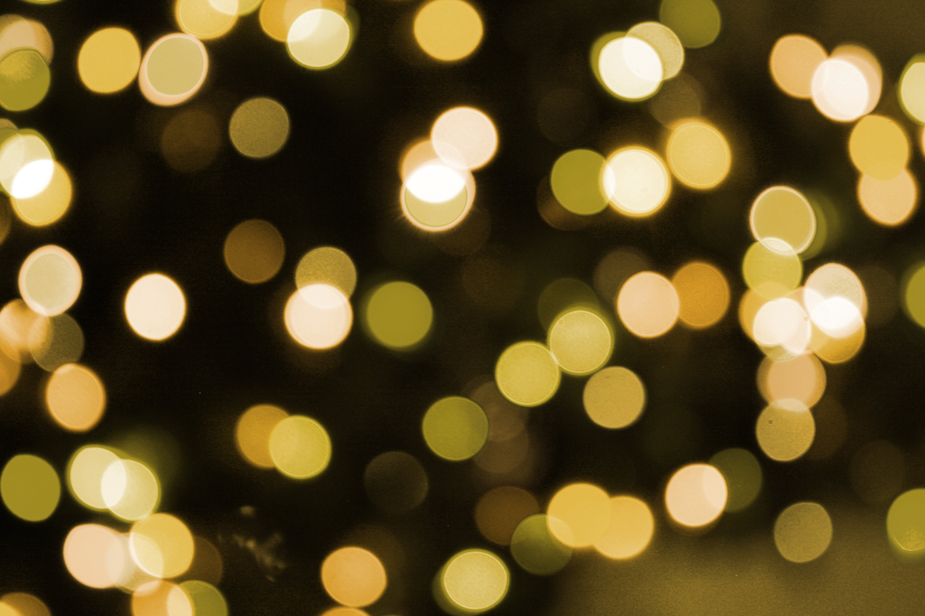 Soft Focus Gold Christmas Lights Texture Picture  Free