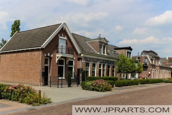 Assen Witter sokakta evler (Hollanda)