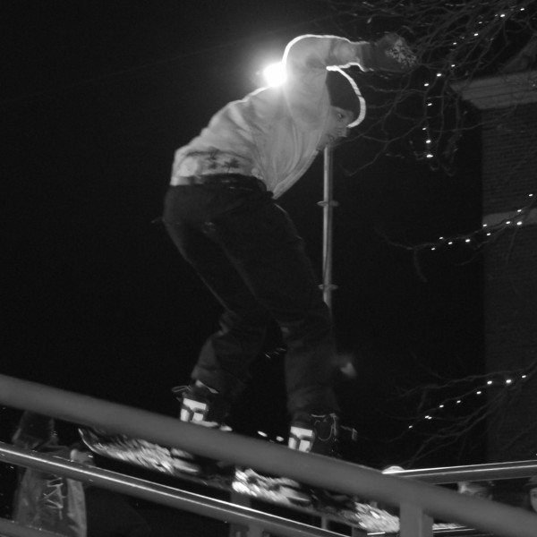 Rididng the rail with David Struber