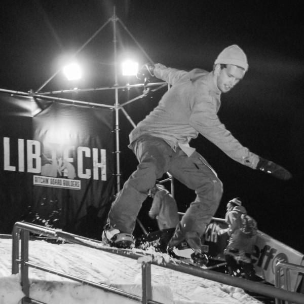 Rididng the rail with Steef van der Meer