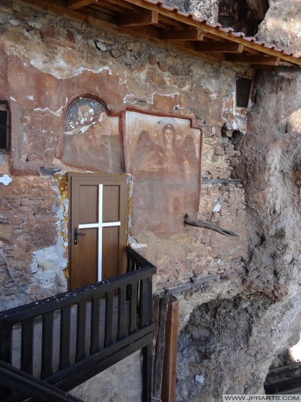 Entree Heilige Aartsengel Michaël kerk (Radožda, Macedonië)