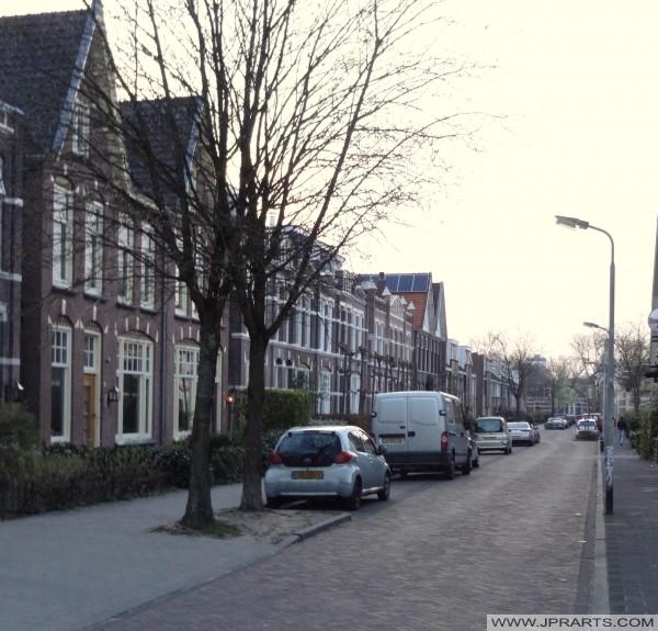 ulice v Meppel, Nizozemí