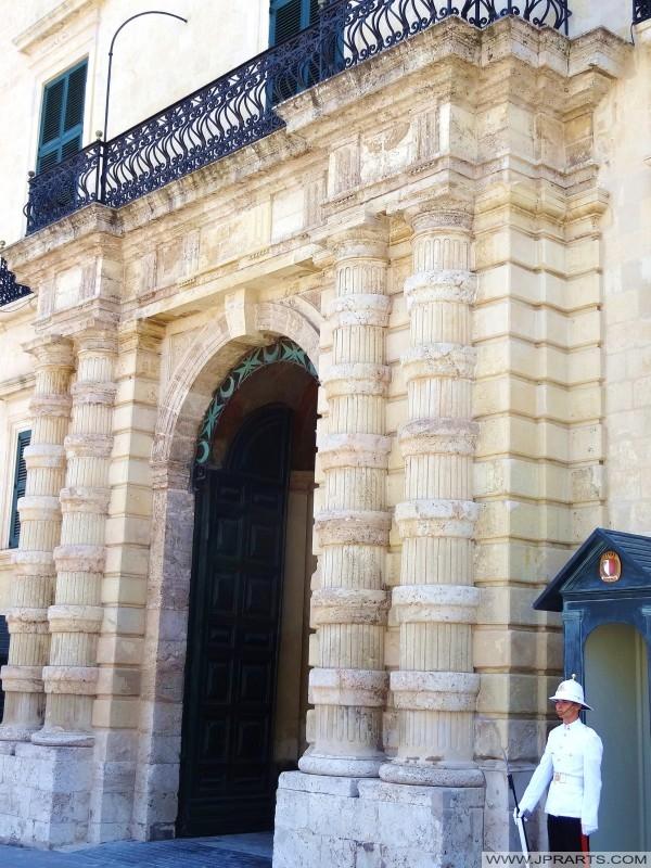Palazzo presidenziale in Piazza San Giorgio, La Valletta, Malta