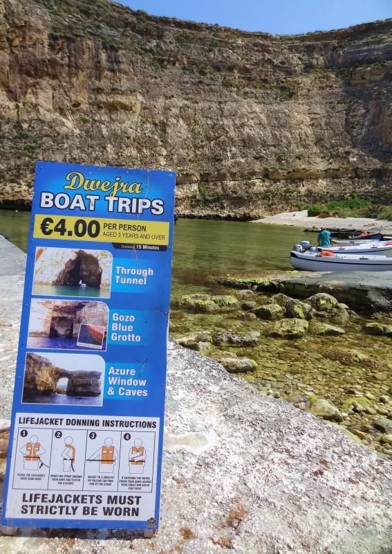 Gite in barca Dwejra (Gozo, Malta)