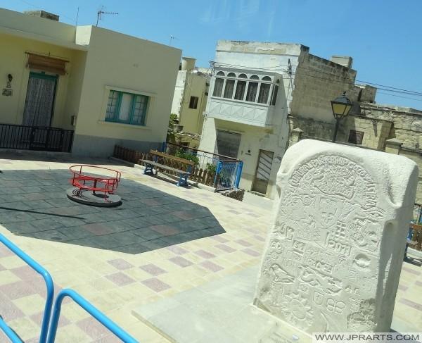 Denkmal Kulturpartnerschaft zwischen Gozo und Österreich (2011)