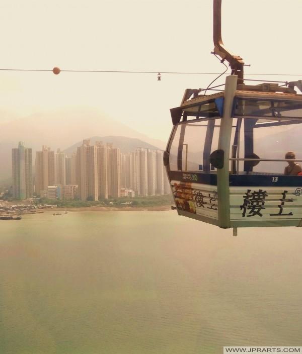 옹핑 360 표준 오두막 (홍콩)