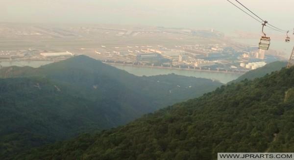 纜車和香港國際機場