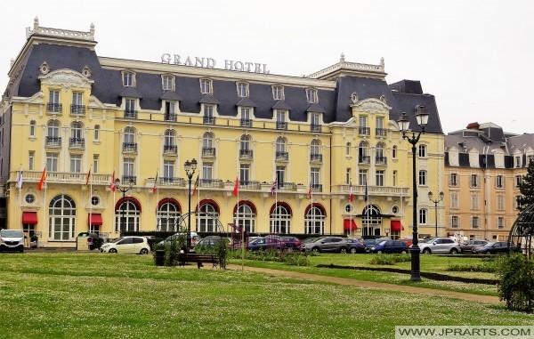 """Das Grand Hôtel in Cabourg (Frankreich) war eine große Quelle der Inspiration für Marcel Prousts """"Auf der Suche nach der verlorenen Zeit"""""""