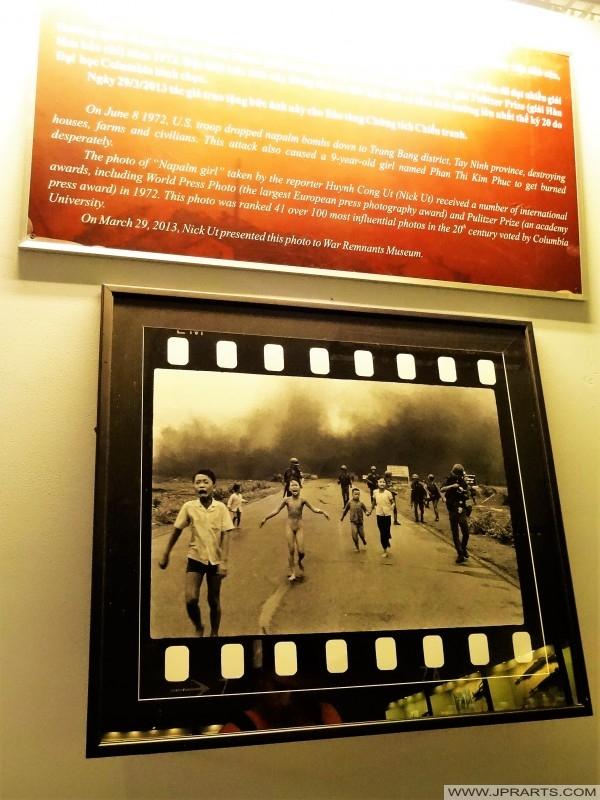 World Press Photo 1972 - Napalm Girl Vietnam War (Remnants Museum in Ho Chi Minh City, Vietnam)