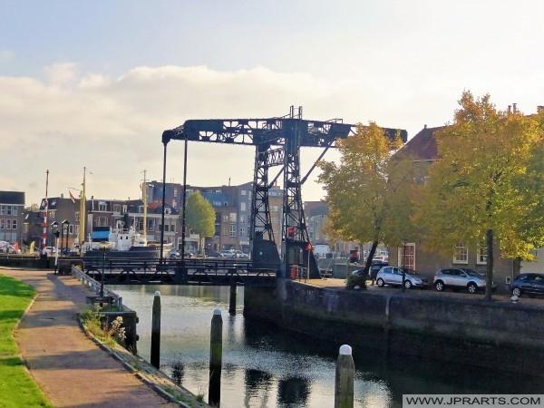 Schansbrug i Maassluis, Nederland